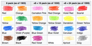 crayola retiring one of the original 24 colors electric 102 7