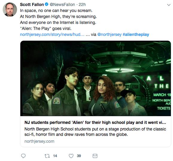 VIRAL] NJ High School Adapts 1979 Film